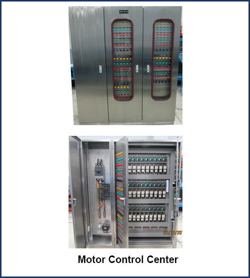 Aga system inc electrical services philippines for Low voltage motor control center